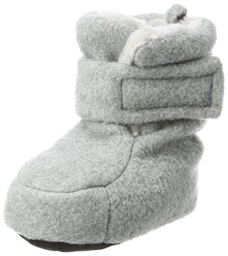 Sterntaler Jungen Baby Stiefel mit Klettverschluss, Farbe: Silber melange, Größe: 15/16, Alter: 4-6 Monate, Artikel-Nr.: 5101616