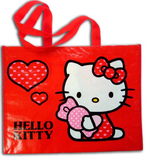 Hello Kitty - Bolsa plastificada, 42 x 33 cm (Factory 87005)