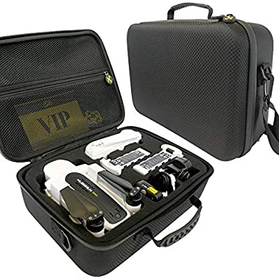 Drone Pit Stop Carrying Case for Hubsan Zino - Splash-Proof   Durable   Compact   EVA Material - Carry Your Drone with Maximum Protection