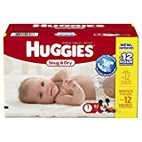 Huggies Snug and Dry Diapers, Size 1, 92 Count (Packaging May Vary)