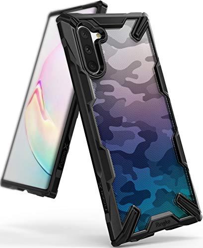 Ringke Fusion-X DDP Diseñado para Funda Galaxy Note 10, Carcasa Galaxy Note 10 5g Protección Resistente Impactos Funda para Galaxy Note 10 (2019) - Camo Black