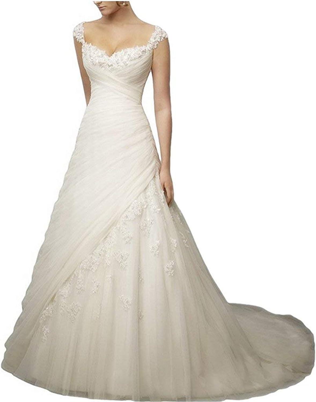 Yilian New White Ivory Sleeveless Lace Sexy Elegant Appliques Mermaid Bridal Dress Wedding Gown