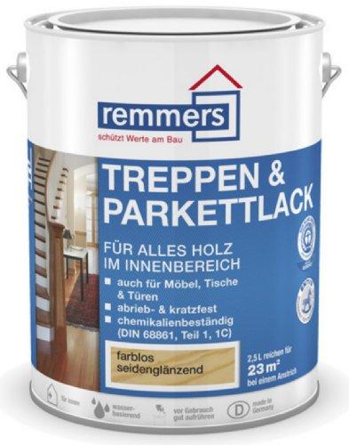 Remmers Aidol Treppen- & Parkettlack - farblos seidenmatt 750ml