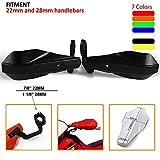 Protectores universales de manos de plástico PP, 22 y 28 mm, para motos de motocross Yamaha Kawasaki, Suzuki, Honda y K.T.M SX XCF