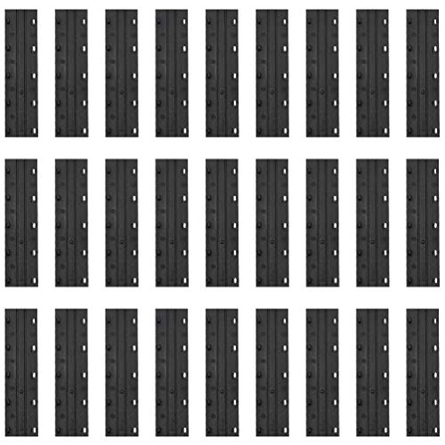 bon comparatif TOYANDONA 100 pièces Serre-fil en plastique pour le cerclage avec plaque à arracher… un avis de 2021