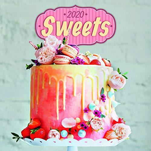 Sweets Calendar - Calendars 2019 - 2020 Wall Calendar - Photo Calendar - 12 Month Calendar by Presco Group