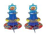 Beistle - Soporte para Cupcakes (2 Unidades, 16'), Multicolor
