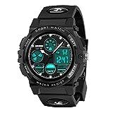 wetepuxi Reloj deportivo multifuncional impermeable para...