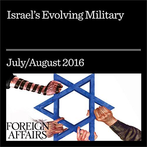 Israel's Evolving Military cover art
