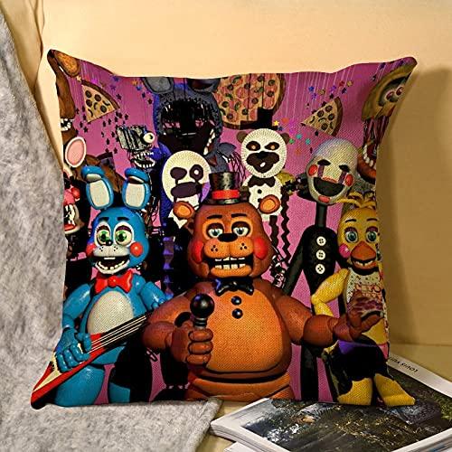 Best-design Troll FNAF - Federa copricuscino in microfibra per divano, giardino, letto, divano, 45 x 45 cm