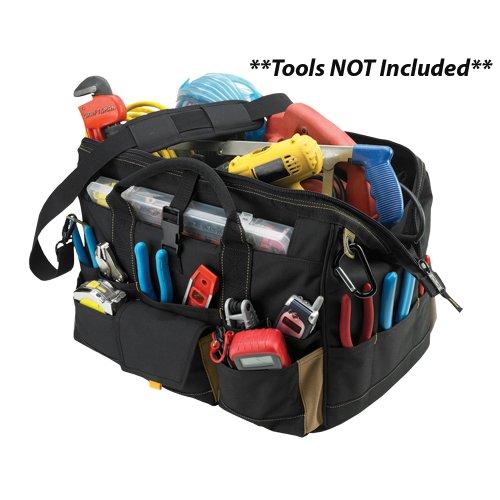 Clc Tote Bag 13 Pockets 11 ' W, 13-1/2 ' X 3 ', 18 ' Lx11 ' Wx11 ' H
