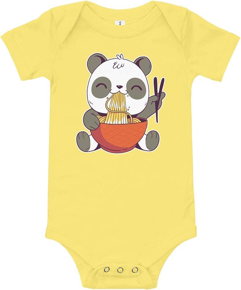 A surprise price is realized Vaultrenda Kawaii Panda Onesie Max 88% OFF Japanese Ramen Bodysuit In Cute