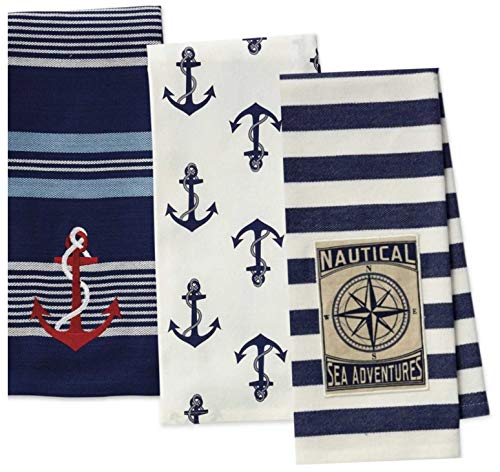 Top 10 Best Selling List for nautical kitchen towels