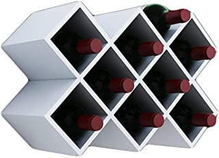 Plaid Wine Rack - Free Standing Wine Rack - Wine Rack Combination - Bar, Kitchen, Cabinet (Color : C)