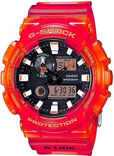 G-SHOCK GAX-100MSA-4A Orange Men's Watch