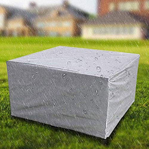 Garden Furniture Covers, Patio Furniture Covers Waterproof, Outdoor Patio Furniture Cover, Rectangular 210D Heavy Duty Anti-UV Snowproof Funiture Set Protective Cover