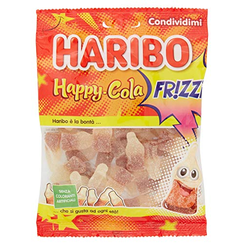 Haribo Caramelle Gommose Happy Cola, 175g