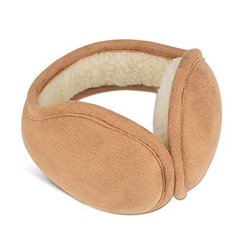 ETCTOPイヤーマフ 耳あて 折りたたみ 耳当て 調節可能 イヤーウォーマー イヤーマフ耳カバー防寒 通勤、アウトドアに、スポーツ 軽量タイプ(ユニセックス)