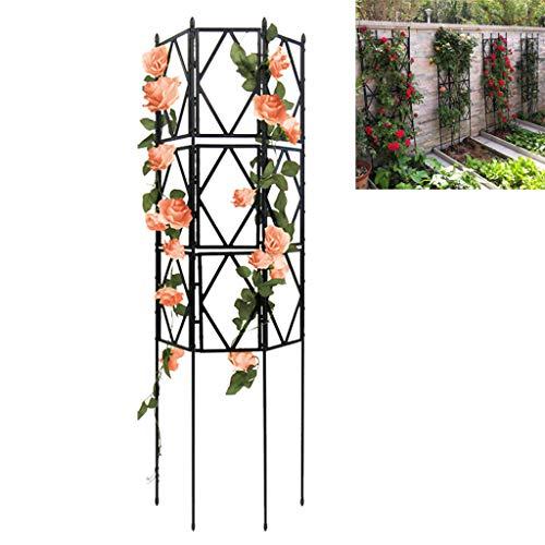 Garten-Gitter für Kletterpflanzen, Metalldrahtgitter Gitterplatten für Reben Zaun Panel für Kletterpflanzen w/Finial, für Rose Reben Clematis Unterstützung,90cm
