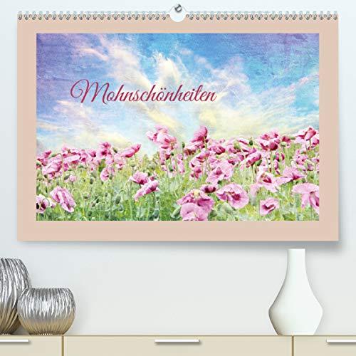 Mohnschönheiten (Premium, hochwertiger DIN A2 Wandkalender 2021, Kunstdruck in Hochglanz)