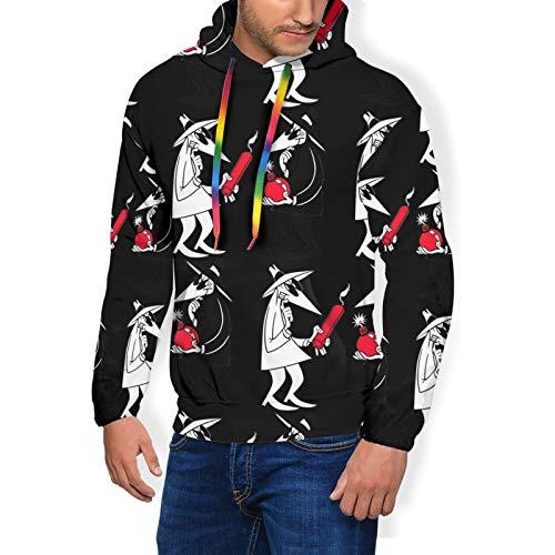 Spy Vs Spy Unisex 3D Hoodies Graphic Patterns Print Hoodies Pullover Sweatshirt Pockets Black