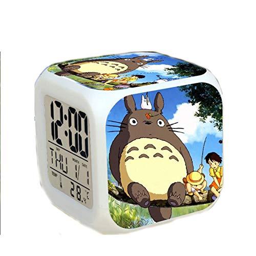 SANMAO Ghibli Hayao Miyazaki ist Mein Nachbar Totoro Wecker umliegenden Animation Cartoon bunten Glocke Wecker kreativ