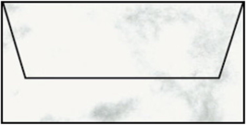 Rössler Papier - - Paperado-Briefumschlag DL m. Sf, Grau Marmora B07CX3FRRN |