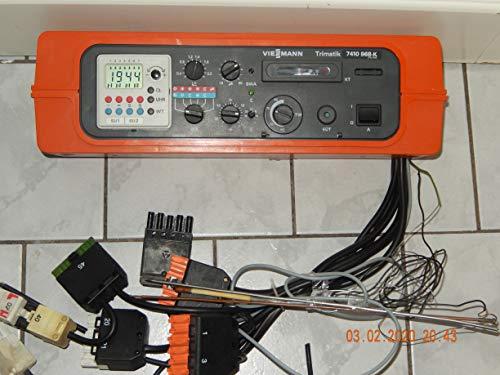 VIESSMANN Trimatik 7410 968-K Heizungsregelgerät mit Digitalschaltuhr, Fühler und Kabel, geprüft, in TOP Zustand