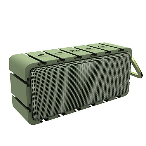 OUCOMI HiFi Sound Subwoofer Wireless Speaker Green