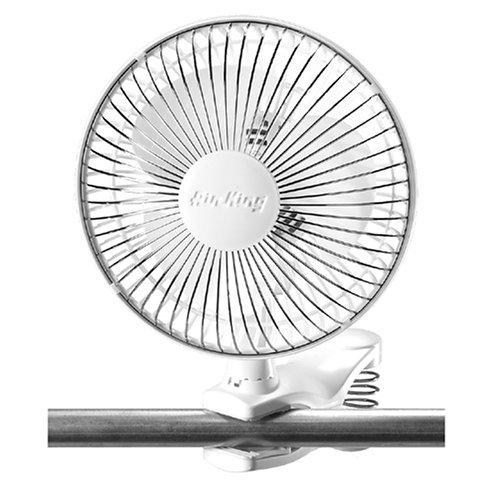 Air King Clip Fan, White (Renewed)