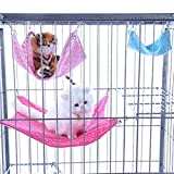Cuccia Cane 2 Estilos Caliente Franela hámster Chinchilla en Relieve búho Impreso Hamaca Conejillo de Indias de Conejo Accesorios Colgantes Cama Jaula Cuccia per Cane da esterno