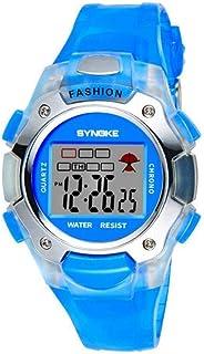 Yuanhua Multi-functional Watch, 4 Colors Students Kids Fashionable Waterproof Luminous Electronic Wrist Watch Watch Band