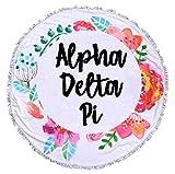 Sorority Shop Alpha Delta Pi - Fringe Towel - Blanket