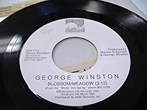 GEORGE WINSTON 45 RPM Blossom/Meadow / The Venice Dreamer
