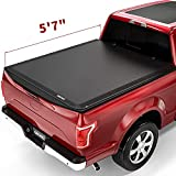 OEDRO Roll Up Truck Bed Tonneau Cover Compatible with 2015-2021 Ford F-150 F150 5.6...