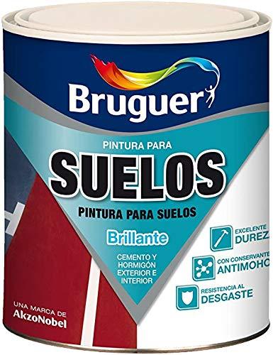 PINTURA SUELO POROSO BRUGUER INTERIOR. EXTERIOR TERRENA GRIS 24006533 750 ML