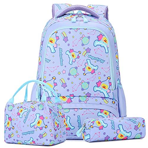 Mochilas Escolares Niña Mochila Niña Mochilas Escolares Bolsa Púrpura Mochilas Colegio Mochilas Infantiles Niña Mochilas Chica Impermeable Mochila (Púrpura)
