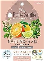 Pure Smile(ピュアスマイル) ピュアスマイルプレミアムセラムボックス フェイスパック 5枚