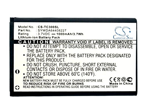 Cameron Sino 1000mAh Battery Compatible with Arcor Pirelli Twintel DP-L10T-Com TC300
