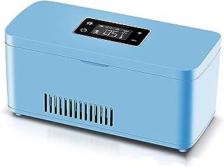 Bilkylskåp Bärbart insulinkylskåp (inbyggt litiumbatteri 10200 mAH) temperaturjusterbar 2~18 ℃ beredskapstid 9 timmar lämp...