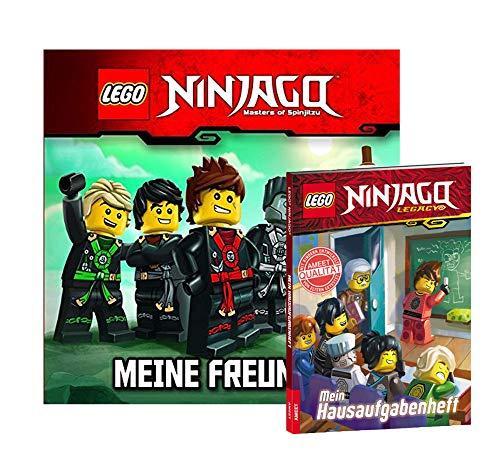 LEGO NINJAGO Meine Freunde - Álbum + Mein Hausaufgabenheft