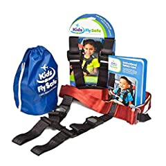 Safety harness designed specifically for aviation travel Compact fits into 6 inches stuff sack weighs just 1 pound Easy to install takes less than 1 minute Adjusts to fit almost every size airplane seat Designed for children 1 year and older weighing...