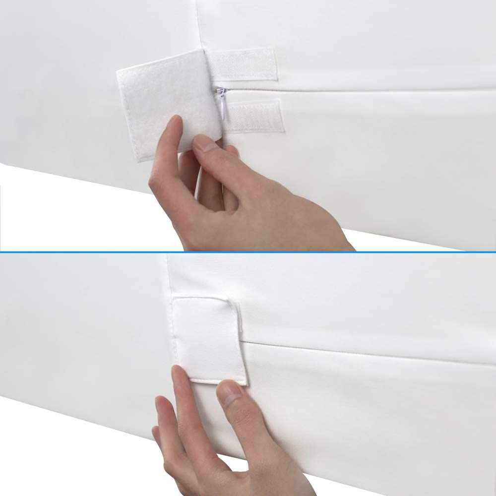 Waterproof Mattress Protector Hyper-Elastic (Queen) ENITYA Mattress Cover with Zipper Closing