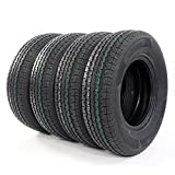 Total of 4 Tubeless Radial Trailer Tires ST225-75R-15 Load Range E 2257515 10 Ply Speed Rating/L 225/75r 15 Trailer Tires