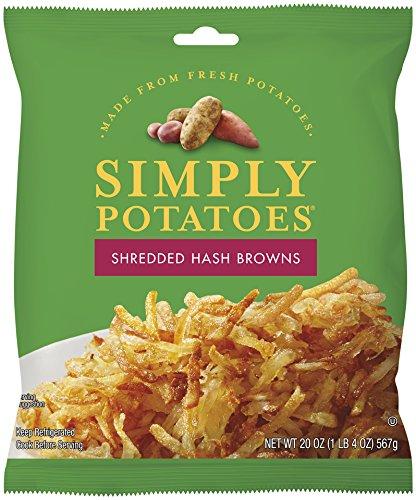 Simply Potatoes Shredded Hash Browns, 20 oz