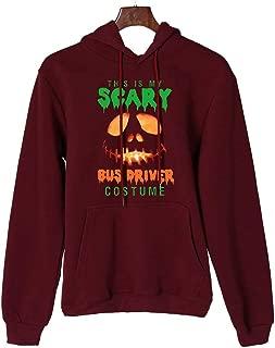 Halloween Women Sweatshirts Long Sleeve Makulas Drawstring Pullover Tops Print Casual Loose Hoodies Blouse with Pocket