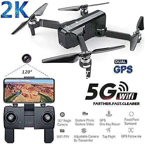 DishyKooker SJRC F11 PRO GPS 5G WiFi FPV Mit 2K Kamera 25 Minuten Flugzeit Brushless Selfie RC Drohne 3 Batterie