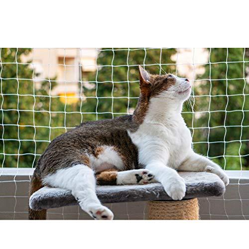 Eono Pet Protective Safety Net cat Anti-escape Net Fence Balcony Net, Small