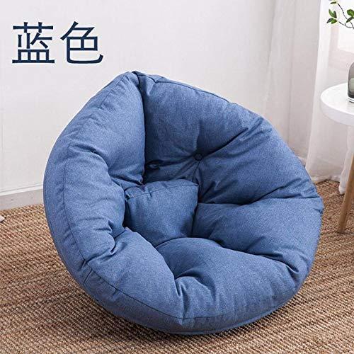LKU sofakruk comfortabele zitzak stoel faul sofa enkele zitzak ligstoel kleine woning slaapkamer lief, S maat 4