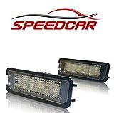 SPEEDCAR  LED Kennzeichenbeleuchtung mit E-Prüfzeichen